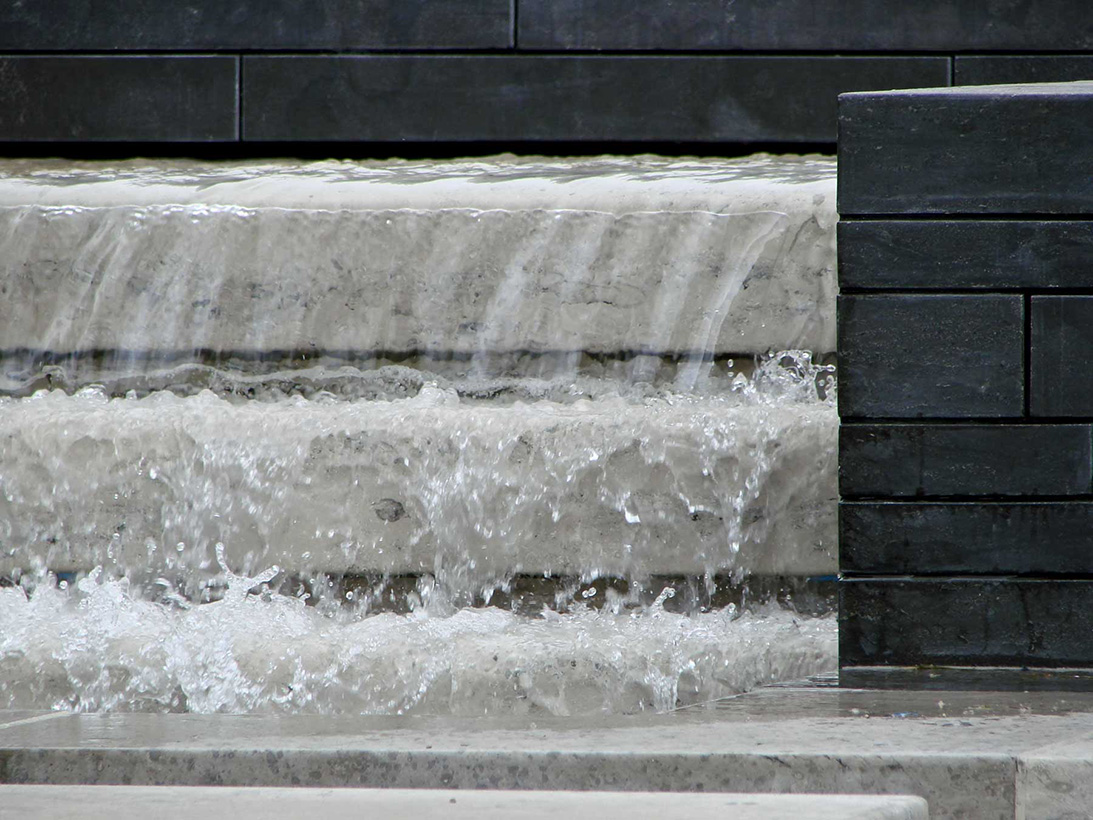 Gulin and Jura Limestone Water Feature