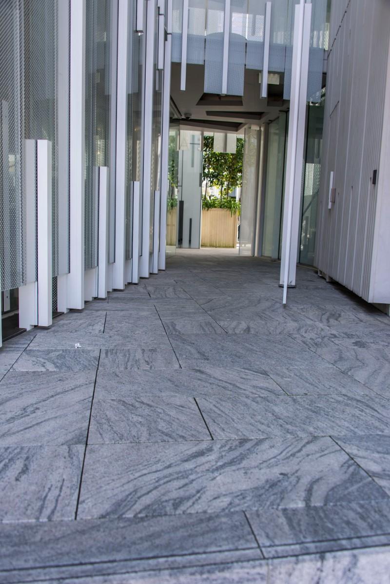 Alpine Grey Granite Paving