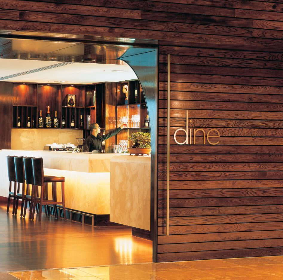 Travertine Bar