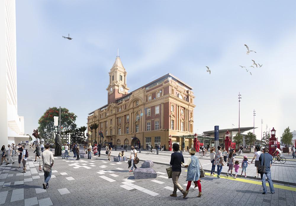 Quay Street Enhancement - Auckland